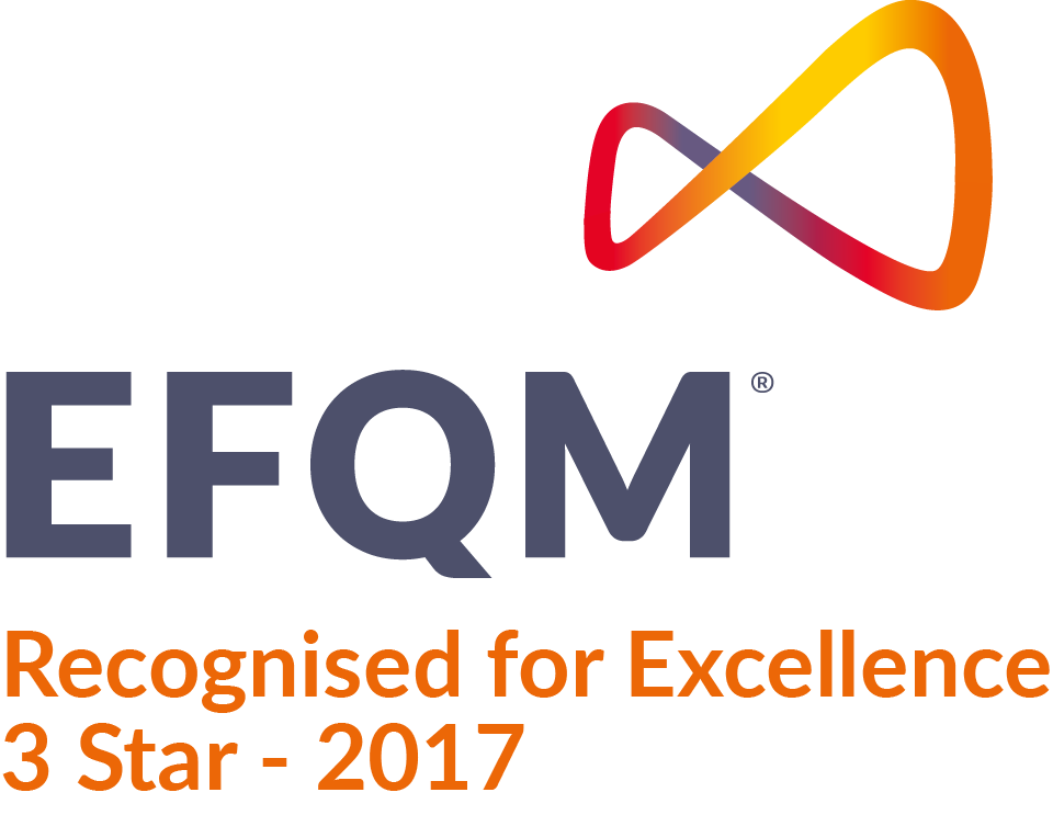 EFQM - Recognised for Excellence 3 star