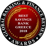 Best Savings Bank in Greece 2018