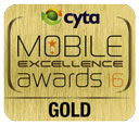 Mobile Excellence Gold Award 2016