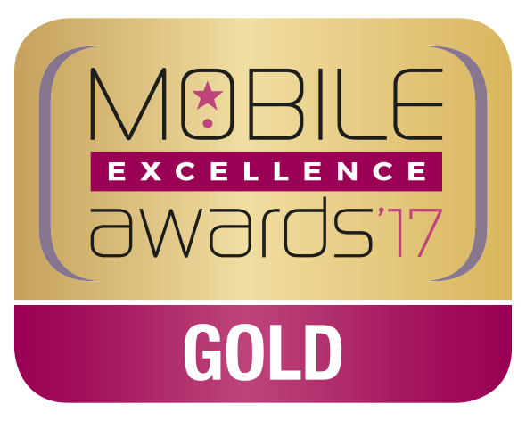 Mobile Excellence Gold Award 2017